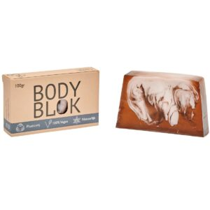Body bar chocolade Blokzeep
